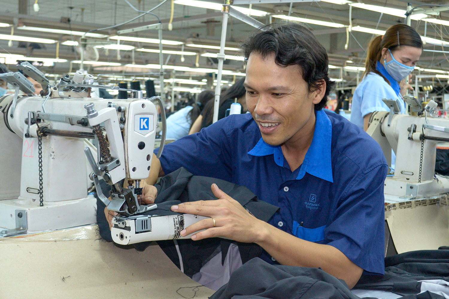 1. AN NHON GARMENT FACTORY